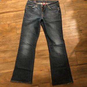 Women's 8 Lucky Brand Sweet N Low Bootcut Jeans